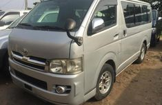 Toyota HiAce 2010 silver for sale