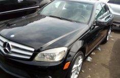2008 Mercedes-Benz C350 black for sale