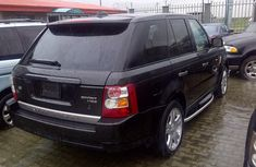 Toks RANGEROVER sports 2006 model black for sale with the fullest option buy and drive vehicle.