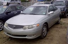 Toyota Solara 2003 silver model for sale with the fullest options buy and drive