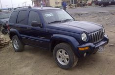 okumbo 2002 Blue Jeep Liberty Limited Edition For sale
