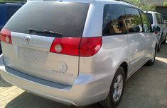 2008 Toyota Sienna Silver for sale