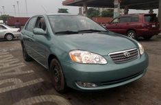 Toyota Corolla 2005 Green for sale