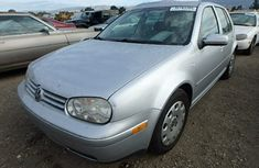 Golf4 2003 silver for sale at auction price