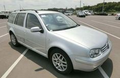 Golf4 2002 silver for sale at auction price