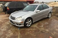 Toks 2005 Benz C230 silver for sale