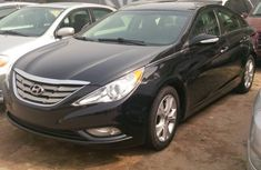 Hyundai Sonata 2012 model Black for sale