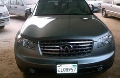 Toks Very Clean 2004 Grey Model Infiniti Fx35 For sale,