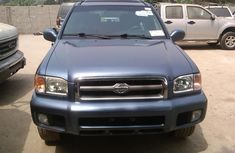 Toks 2001 Blue Model Nissan Pathfinder Le 4wd Forsale,with the fullest option buy and drive vehicle.