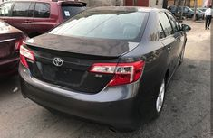 Foreign used Toyota Camry 2013 black for sale
