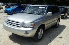 Toyota Highlander 2007 silver for sale