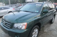 Toyota Highlander 2007 Green in good condition for sale