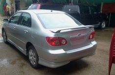 Fulling loaded Toyota Corolla sport 2004 silver for sale