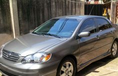 Fulling loaded Toyota Corolla sport 2004 grey for sale