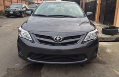 Clean 2012 Corolla Grey for sale