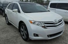 2017 Toyota Venza White for sale