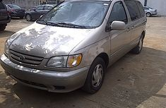 SOLD! SOLD!! Tokunbo 2002 Toyota Sienna LE FOR SALE