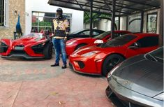 Dino Melaye shows off nearly 20 luxurious cars