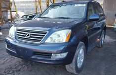 Clean Lexus GX470 blue cheap and affordable 2003 model FOR SALE