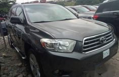 Toyota Highlander 2011 Gray for sale