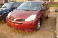 2004 Model Toyota Sienna Ce Available For  sale