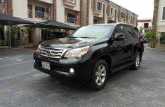 Lexus GX 2011 Petrol Automatic Black for sale