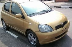 Toyota Yaris 2003 Yellow for sale