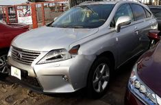 Lexus RX 2012 Petrol Automatic Grey/Silver for sale