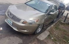 Honda Accord 2009 Petrol Automatic Gold for sale