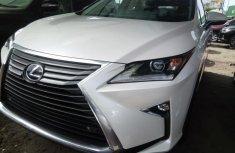 Lexus RX 2017 Petrol Automatic White for sale