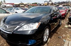 Lexus ES 2011 Petrol Automatic Black for sale