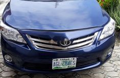 Toyota Corolla 2012 Petrol Automatic Blue for sale