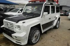 Mercedes Benz Gwagon G500 2014 model for auction