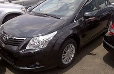 Toks Grade Toyota Avensis 2011 Black for sale with full option