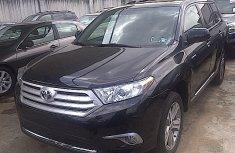 Foreign used Toyota Highlander 2012 black for sale