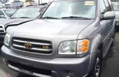 2007 Toyota Sequoia silver available for sale