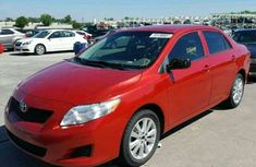 CLEAN IMPOUNDED TOYOTA COROLLA 2012 RED FOR SALE