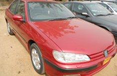 Tokunbo Peugeot 406 Saloon Red 1999 Model
