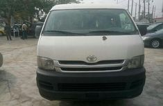 Direct tokunbo Toyota Hiace bus 2010 White for sale