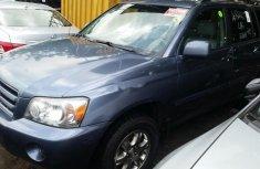 Toyota Highlander 2007 Petrol Automatic Blue for sale