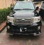 Almost brand new Toyota Land Cruiser Petrol 2014 for sale