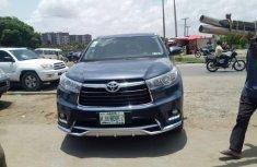Toyota Highlander 2016 Petrol Automatic Blue for sale