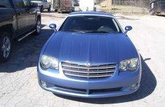 Full Option Direct Tokunbo Chrysler Crossfire 2012 blue for sale