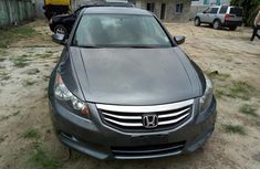 2008 Clean tokunbo Honda Accord Grey for sale