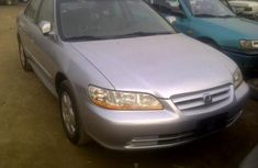 2002 Honda Accord (tokunbo) Silver for sale