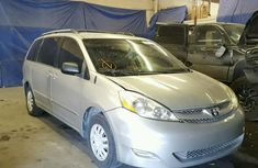 Tokumbo Toyota Sienna 2007 Silver for sale contact Mrs Stella on 08066829605