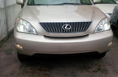 Tokumbo Lexus Rx350 2005 Gold for sale contact Mrs Ifeoma on 08066829605