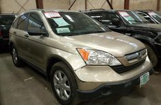 Clean Honda CR-V 2007 Gold for sale