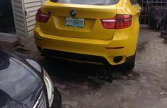 BMW X6 2008 Yellow for sale