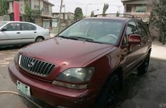 Neatly Used Lexus Rx 300 1998 Red For Sale